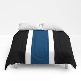 TEAM COLORS 10....NAVY AND BLACK Comforters