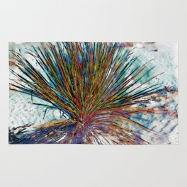 Painted Desert Yucca Plant Rug