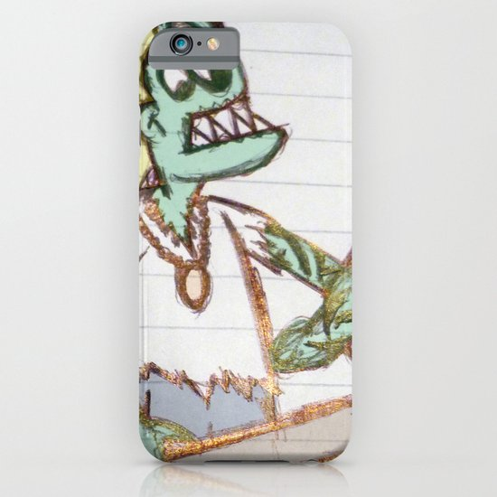 frog man iPhone & iPod Case