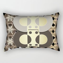 The Ornament of Art Deco Rectangular Pillow
