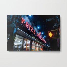 Katz Deli NYC Metal Print