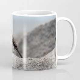 Bird On A Rock By The Sea Coffee Mug