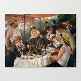 Pierre-Auguste Renoir - Luncheon of the Boating Party Canvas Print