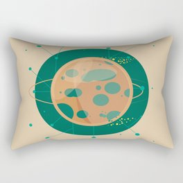 Planet C - Trappist System Rectangular Pillow