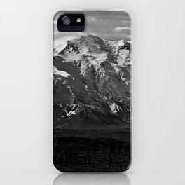 Retro USA  Alaska Beautiful Mt Mckinley 1970 iPhone Case