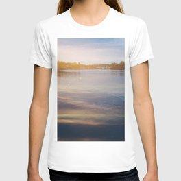 Leaking sunshine across the lake T-shirt