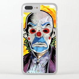 I believe whatever doesn't kill you simply makes you... stranger Clear iPhone Case