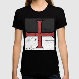 Knights Templar Cross | Renaissance Festival Design T-shirt