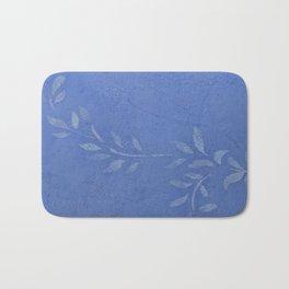 Blue Ivy Vine - Pretty - Rustic - Floral Bath Mat