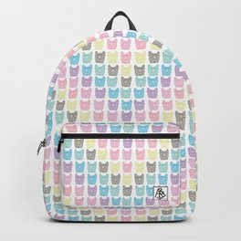 Frenchie chevron Backpack