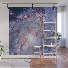 Messier 83, Southern Pinwheel Galaxy, M83 in the constellation Hydra. Wall Mural