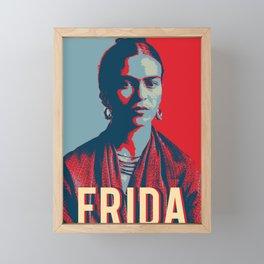 Frida Kahlo Hope Pop Art Framed Mini Art Print