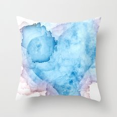 Heart Stains Throw Pillow