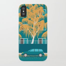 An Autumn at Home iPhone Case