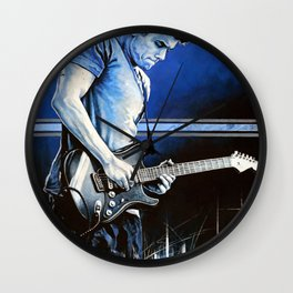 John Mayer Blues Wall Clock