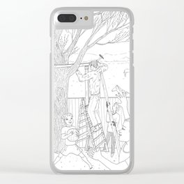 beegarden.works 011 Clear iPhone Case
