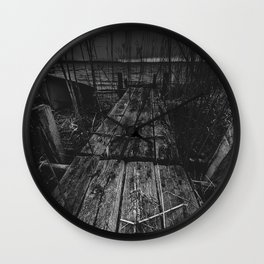 On the wrong side of the lake 13 Wall Clock