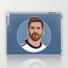 Messi Portrait Cartoon Laptop & iPad Skin
