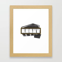 LEGIT  Framed Art Print