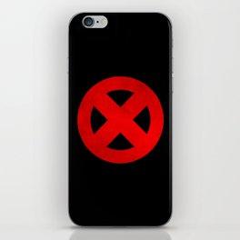 Circled X iPhone Skin