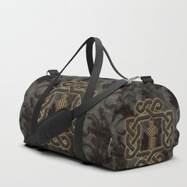 Decorative celtic knot, vintage design Duffle Bag