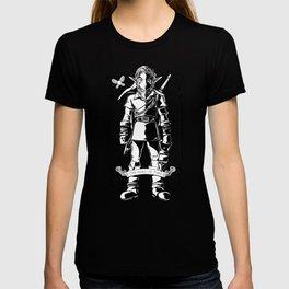 Legend of Zelda - Epic Link Vintage Geek Line Artly T-shirt