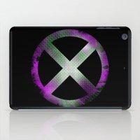 x men iPad Cases featuring X-Men by Trey Crim