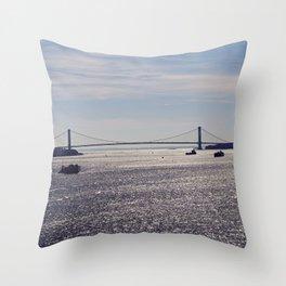 Brooklyn bridge Throw Pillow