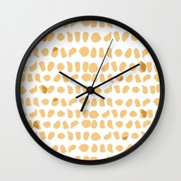 Chicken Nuggets are the New Leopard Print Wall Clock