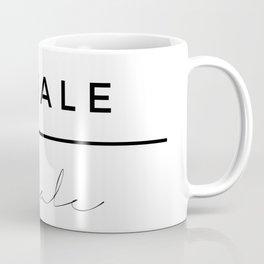 Inhale - Exhale Coffee Mug