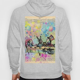 Tea Party Celebration - Alice In Wonderland Hoody