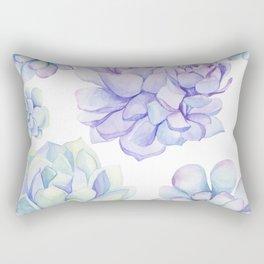 Pastel Echeveria #society6 #buyart Rectangular Pillow