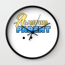 Relatives Family Kinship Ancestry Household Love Bloodline Ancestry Awesome Parent Gift Wall Clock