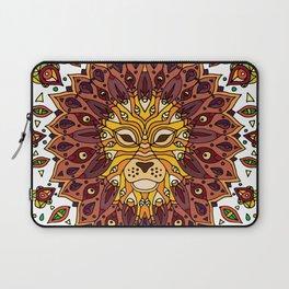 Lion Mandala in Colour Laptop Sleeve