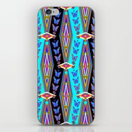 Butterflies Migration Southwest-Western Style Abstract iPhone Skin