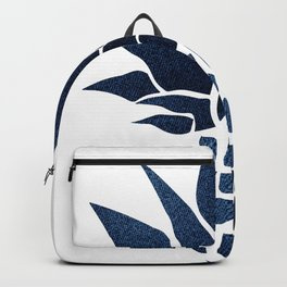 Pineapple, Big Blue, Denim Navy Backpack