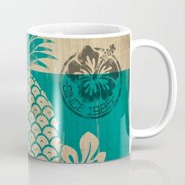 Hala Kahiki Juice Stand wooden board. Coffee Mug
