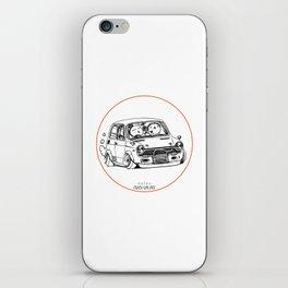 Crazy Car Art 0223 iPhone Skin