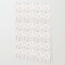 Boho Arrows with Feathers Pattern Wallpaper