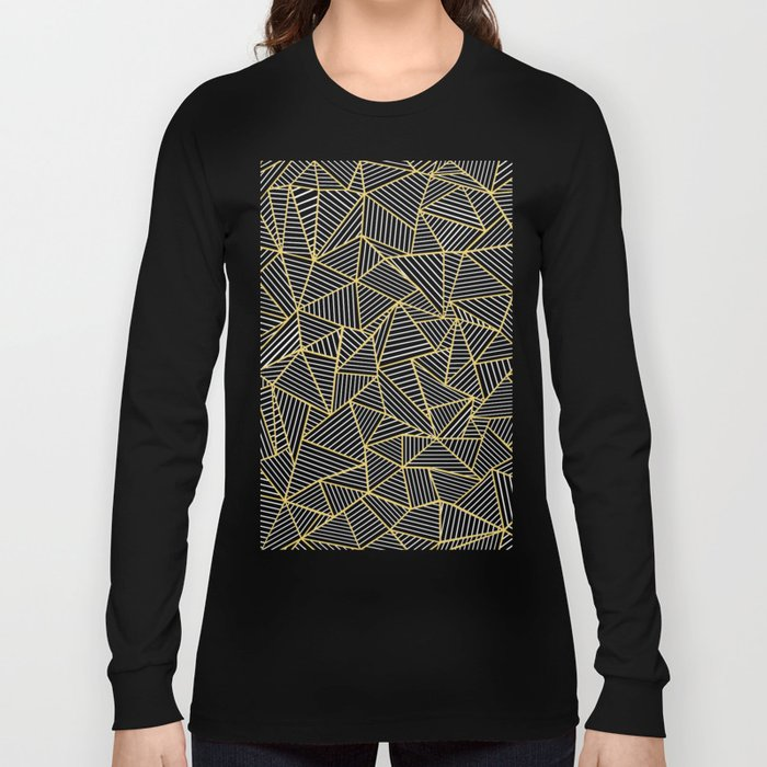 Ab Out Double R Navy Long Sleeve T-shirt