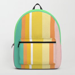 Springtime Stripes Backpack
