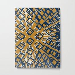 hollow brick03_01 Metal Print
