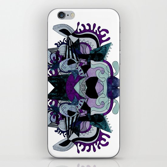 ILLUSTRATED DREAMS (CAN YOU SEE A BEAR? )3 iPhone & iPod Skin