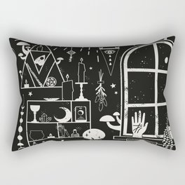 Moon Altar Rectangular Pillow