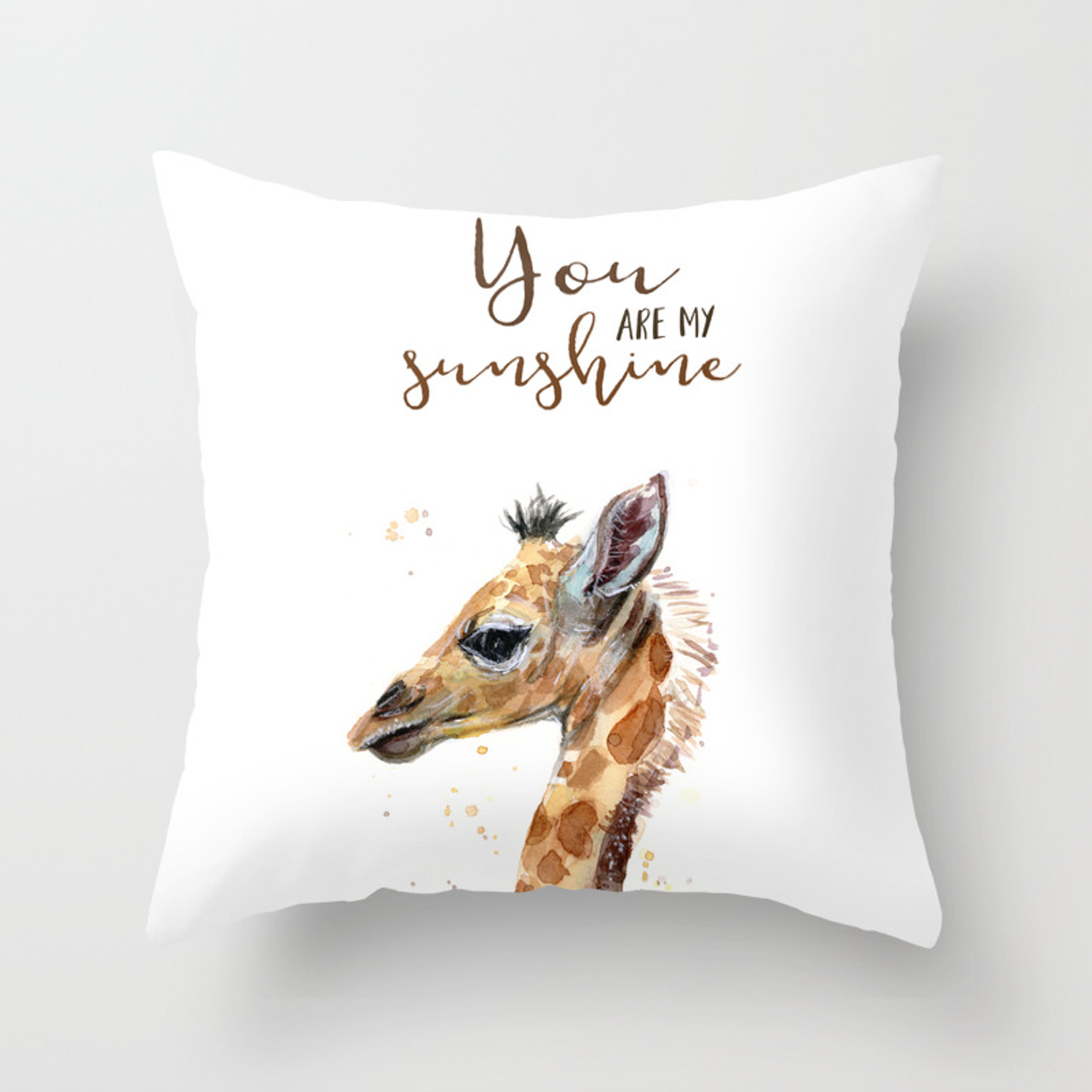 Are My Sunshine Giraffe Nursery Animals