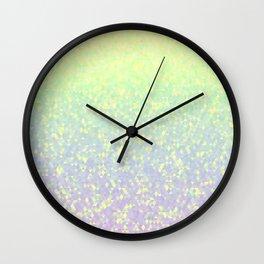 Gleaming Rainbow 4 Wall Clock