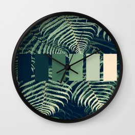 GREENERY Wall Clock