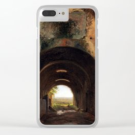 François Marius Granet View Stables Clear iPhone Case