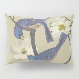 Bluebirds in Dogwood Tree Pillow Sham