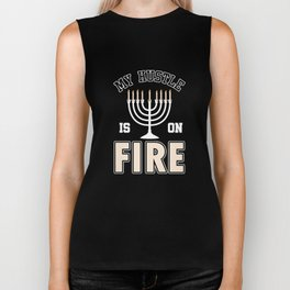 My Hustle Is On Fire Candlemaker Candlemaking Chandler Wax Light Gift Biker Tank